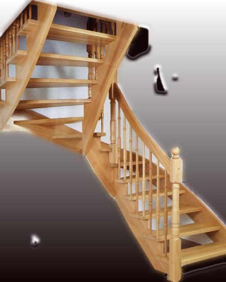 eiche dekor treppe. Black Bedroom Furniture Sets. Home Design Ideas